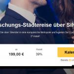 Überraschungs-Silvester-Städtetrip mit 2 Nächte im 3 Sterne Hotel und Flug ab 199€