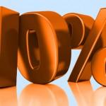 100 Minuten lang 10% Rabatt auf alle Gutscheine bei animod