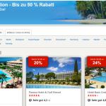 48h-Sale bei Hotels.com mit bis zu 50% Rabatt auf Hotelbuchungen