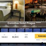 2 Übernachtungen in Prag im 5 Sterne Corinthia Hotel mit Frühstück für 82,50€