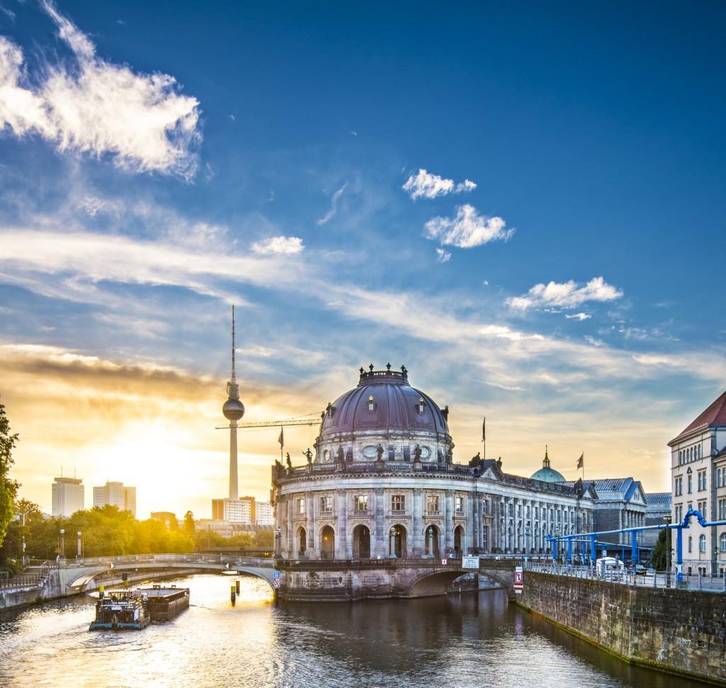 Berlin, Germany Scene at Museum Island