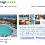 7 Tage Kreta im 4 Sterne Hotel Petra Village für nur 148€