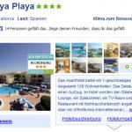 7 Tage Mallorca im 4 Sterne Hotel THB Guya Playa für nur 302€