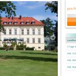 3 Tage Mecklenburgische Schweiz im 4 Sterne Landhotel Schloss Teschow für nur 79€ pro Person