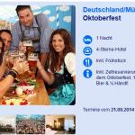 1 Nacht Oktoberfest in München im 4 Sterne Hotel inkl. Frühstück, Zeltreservierung ab 99€