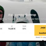 1 Tag Pistenfun im Alpincenter Bottrop mit Buffet und Getränken für 14€
