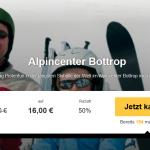 Eintrittskarte für das Alpincenter Bottrop mit Buffet & Getränke für 16 Euro