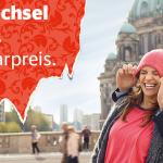 eine Million Sparpreistickets bei der deutschen Bahn ab 29€