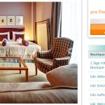 eine Übernachtung in Prag im 5 Sterne Boutique-Hotel inkl. Mittelalter-Festmahl für 79€
