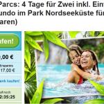 4 Tage Center Parcs zu zweit inklusive Eintritt ins Aqua Mundo für 99€