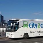 alle Strecken bei Fernbuslinie city2city im April für nur 5 Euro