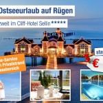 3 Tage Luxusurlaub auf Rügen im 5 Sterne Cliff Hotel Sellin inkl. Frühstück für nur 169€