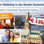 2 Übernachtungen im 3 Sterne Commundo Tagungshotel mit Frühstück und Hamburger Dungeon für nur 67,50 Euro