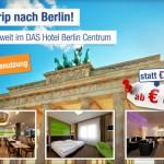 3 Tage zu zweit im DAS Hotel Berlin Centrum inkl. Frühstück für nur 89€