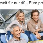 DB – Gruppensparspecial – für 49€ pro Person Hin- und Zurück – mind. 6 Personen