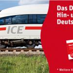 DB Rewe Ticket – Hin- und Rückfahrt mit der Deutschen Bahn (inkl. Sitzplatzreservierung) für 79€