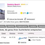 9 Tage Kreta im 3 Sterne Hotel Dedalos Beach mit Halbpension für 320€