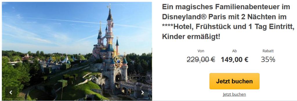Familienurlaub Im Disneyland Paris 3 Tage Im 4 Sterne Hotel Inkl