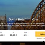 2 Nächte im 5 Sterne Dorint Hotel Köln am Heumarkt mit Frühstück für 99€