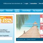 ebookers –  20% Rabatt auf alle Hotelbuchungen