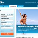 60€ Rabatt auf Pauschalreisen bei ebookers