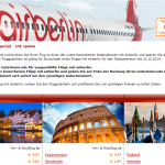 25€ Flug-Gutschein für airberlin Flüge bei opodo