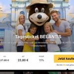 Eintrittskarte für den Freizeitpark BELANTIS in Leipzig für nur 23,80€
