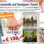 3 Tage Prag zu zweit im 4 Sterne greenYacht Hotel für 159€