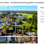 Heide Park Soltau inklusive Übernachtung im 4-Sterne Best Western Hotel für 69€