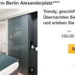 3 Tage Berlin im 4 Sterne Holiday Inn Hotel Alexanderplatz mit Frühstück für nur 99€