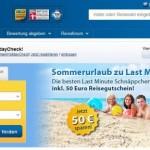 Holidaycheck Gutschein im Wert von 50€ bekommen