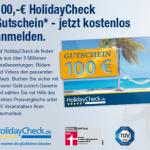 100€ Holidaycheck Gutschein sichern durch Anmeldung bei Elitepartner