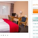 4 Übernachtungen in Mecklenburg Vorpommern im 3 Sterne Hotel am Tierpark mit Halbpension und Wellness ab 89€