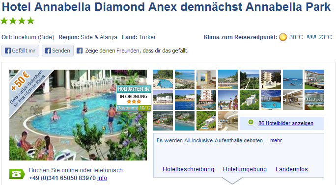 Sterne Hotel Urlaub Turkei