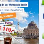 3 Tage Berlin zu zweit im 3 Sterne Hotel Kaiser für 119€