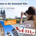 3 Tage Kaneval in Köln im 4 Sterne Hotel Kaiser für nur 55,50€