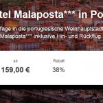 4 Tage Porto im 3 Sterne Hotel Malaposta mit Flug und Frühstück ab 159€