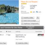 7 Tage Teneriffa in den Sommerferien im 4 Sterne Hotel Playa de Los Roques für 403€