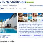 2 Wochen im Hotel Tabaiba Center Apartments auf Lanzarote für nur 333€