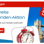 48h Sale bei Hotels.com mit bis zu 50% Rabatt auf Hotels