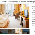 3 Tage Ostsee im 4 Sterne Iberotel Boltenhagen mit Frühstück, Wellness und 3-Gänge Menü ab 99€