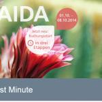 Just AIDA First Minute Deals heute um 10,12 und 14 Uhr mit satten Rabatten