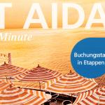 JUST AIDA First Minute – verschiedene Kreuzfahrtenschnäppchen von Aida