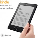 Amazon Kindle 4 WLAN, 15 cm (6 Zoll) E Ink Display für 69€