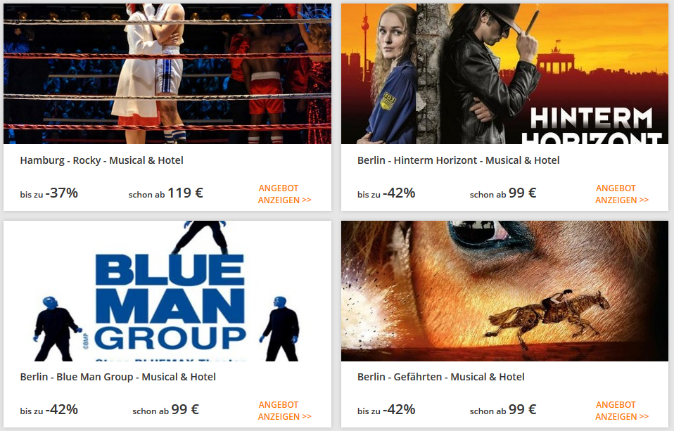 Blue Man Group Adac Rabatt