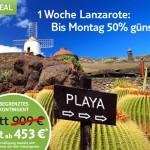 1 Woche Lanzarote im 4* All Inclusive Hotel ab 410€ pro Person über TUI
