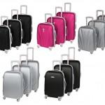 3tlg. LEONARDO Trolley Set Reisekoffer mit 4 Rollen für je 89,00€