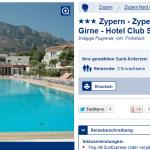 8 Tage Zypern im 3 Sterne Hotel Club Simena inklusive Flug für 199€ pro Person