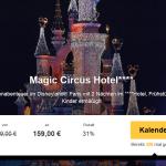 3 Tage Disneyland Paris im 4 Sterne Magic Circus Hotel inkl. Frühstück und Tageseintritt für 159€
