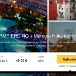 2 Tage Erlebnisbad Erding mit Übernachtung im 3 Sterne Mercure Hotel Airport München Aufkirchen für nur 49€